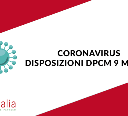 Disposizioni Corona Virusl Sadalitalia srl